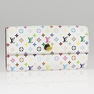 Louis Vuitton Multicolor Sarah Long Wallet